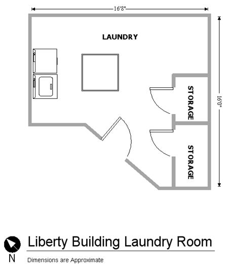 Building Floorplan Downtown Mankato Apartments for Rent near MSU